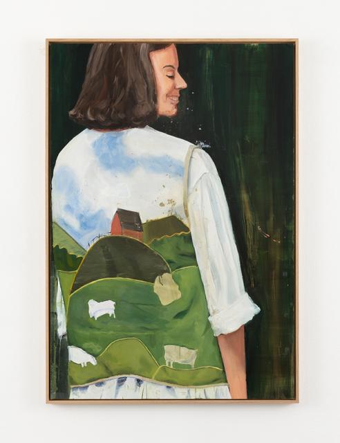 Anna Bjerger, 'Vest', 2021, Painting, Olja på aluminium / Oil on aluminium, Galleri Magnus Karlsson