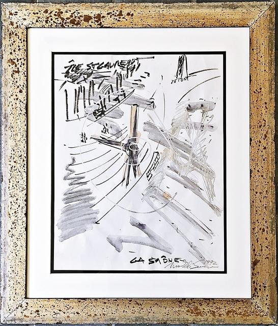 Mark di Suvero, 'Project for Sculpture in Chalon-sur-Saône', 1992, Alpha 137 Gallery