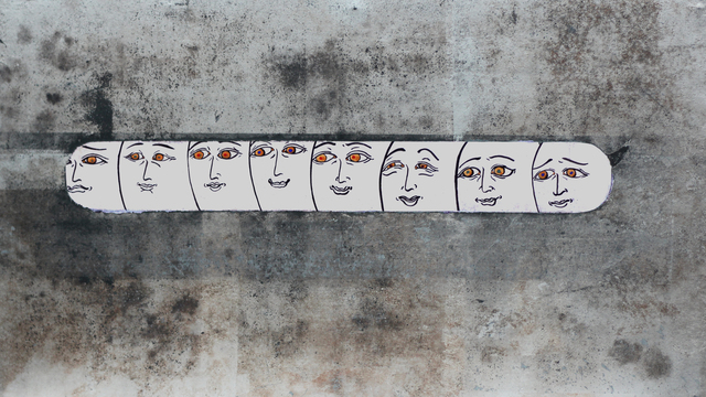 Kuo Ya-Chieh 郭雅倢, 'Detached peeping 對話難以進行', 2019, ESTYLE ART GALLERY 藝時代畫廊