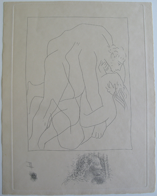 Pablo Picasso, 'Struggle between Tereus and his Sister-In-Law Philomela', 18.10.1930, Galerie Fetzer