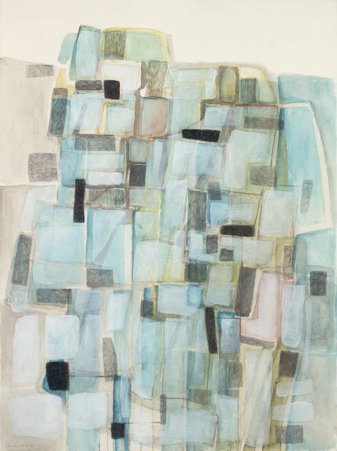 Eva Isaksen, 'Stone Wall Study - With Blues', 2018, Foster/White Gallery