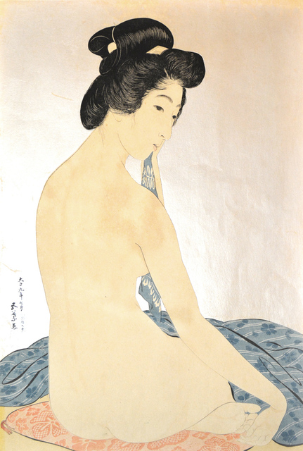 , 'Woman After Bath,' 1920, Ronin Gallery