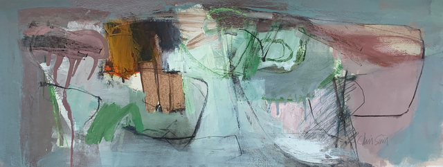 Chris Sims, 'Isolation No 8', 2020, Painting, Oil and mixed media on paper, Joanna Bryant & Julian Page