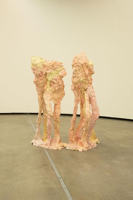 Juliana Cerqueira Leite, 'LLTT', 2018, Sculpture, Hydrocal, ferro e pigmento [hydrocal, steel and pigment], Casa Triângulo