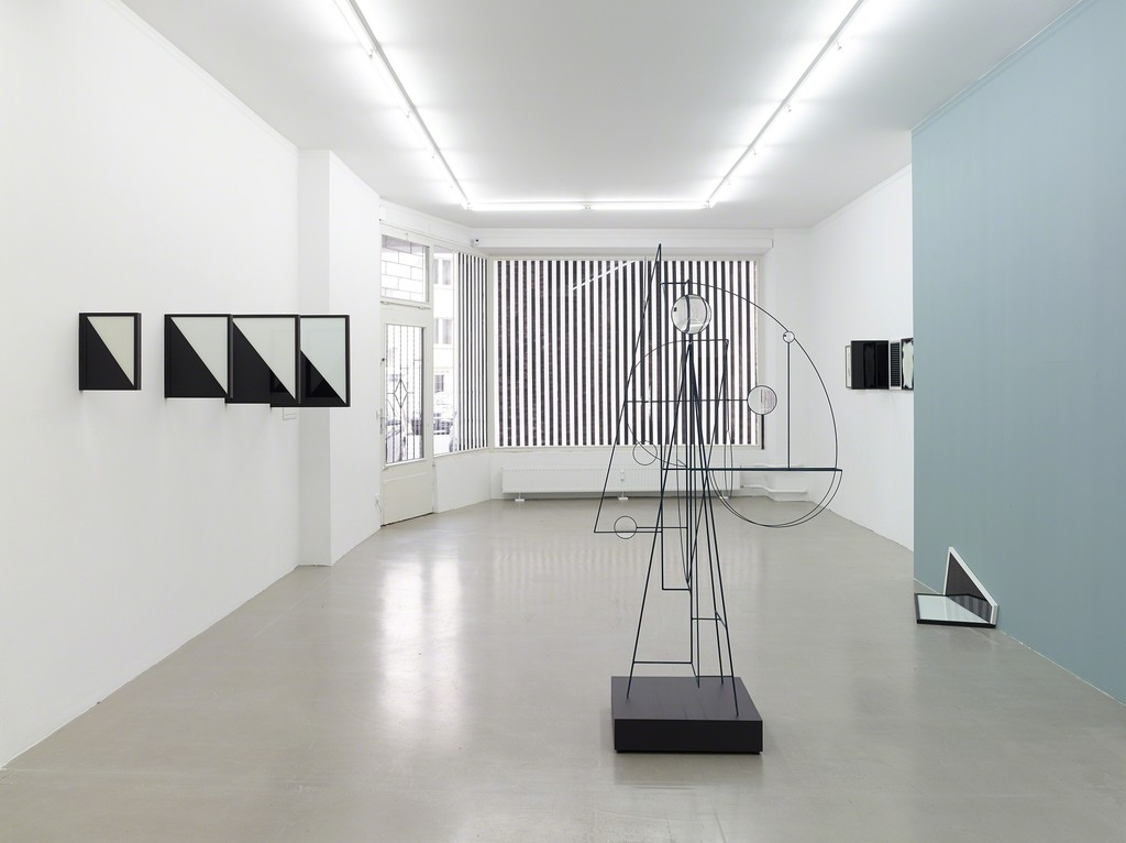 "installation view ""The Collapse of Features"", Kadel Willborn, Düsseldorf, Germany, 2014"