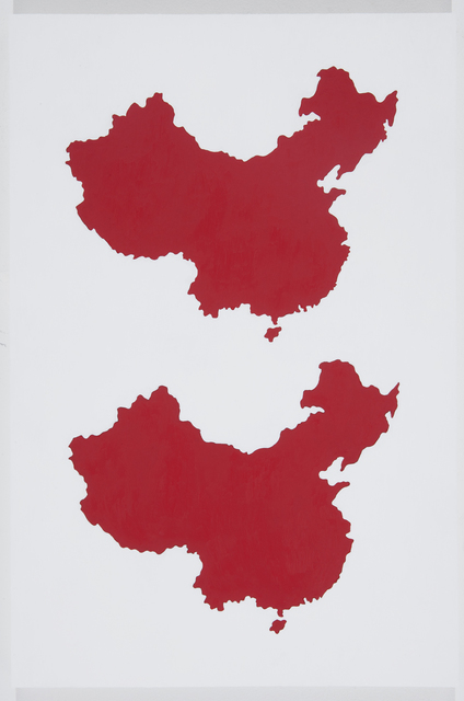 , 'Two Chinas,' 2011, Richard Levy Gallery