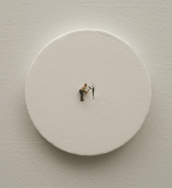 , 'The task II (man with pickaxe),' 2011, Ruth Benzacar Galería de Arte