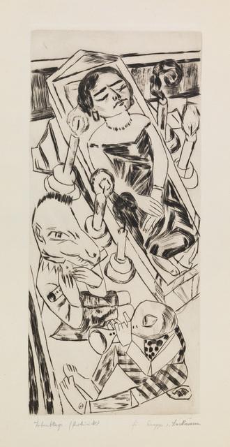 , 'Der Traum I (Totenklage),' 1924, Charles Nodrum Gallery