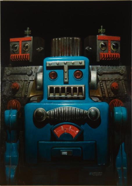 Steven Skollar, 'Three Robots', 2017, Rice Polak Gallery