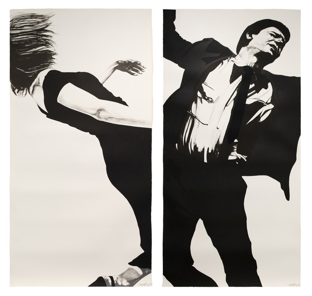 , 'Men in Cities (Joanna and Larry),' 1983, Susan Sheehan Gallery