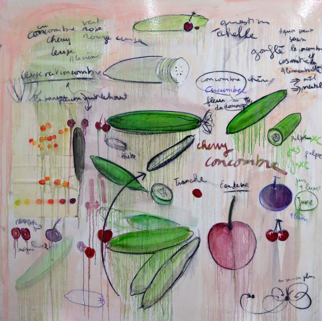 , 'Cherry Concombre,' 2016, Galerie Nathalie Obadia