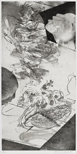 , 'Intaglio Print XLVI,' 2013, Burning in Water