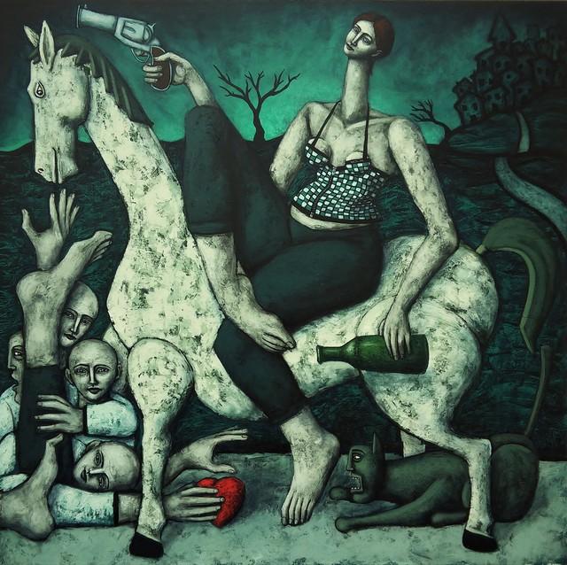 , 'La conquête,' 2018, Bouillon d'Art Galerie