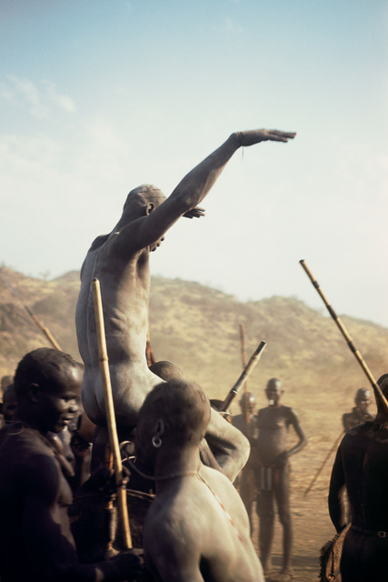 , 'Champion of the Korongo Nuba wrestlers. Kordofan, Southern Sudan,' , David Hill Gallery