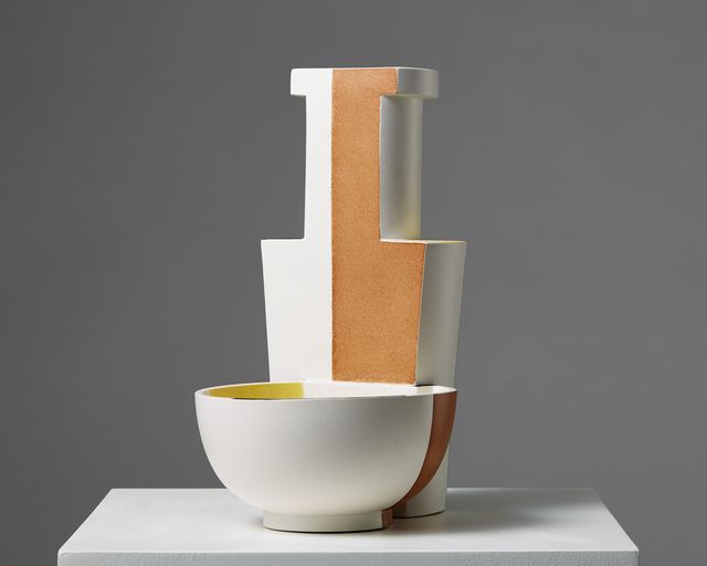 ", 'Vase/bowl ""Surrea"",' 1940, Modernity"