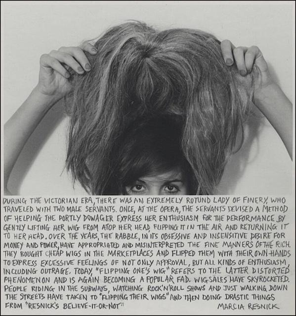 Marcia Resnick, 'Flipping One's Wig', 1980 (February 27), Paul M. Hertzmann, Inc.