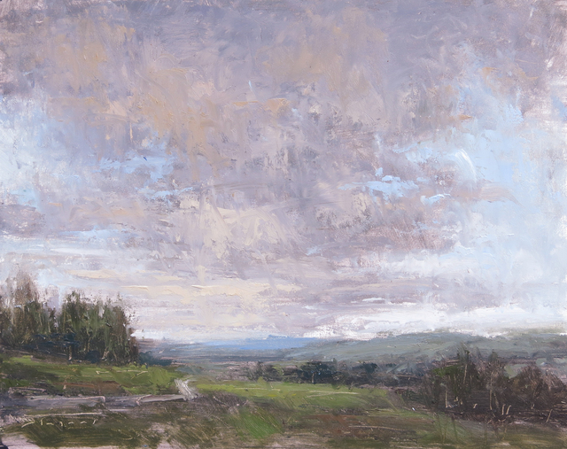Jane Hunt, 'Storm over Dales', 2018, Abend Gallery