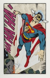 D*Face, 'Ha Ha Ha Not So Superman,' 2008, Forum Auctions: Editions and Works on Paper (March 2017)