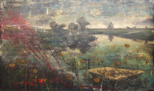 Jernej Forbici, 'Last-flowers', 2017, Galleria Punto Sull'Arte