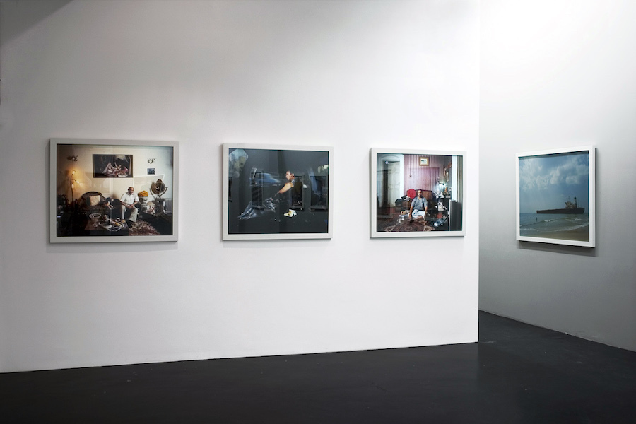 Indian Men, Bharat Sikka, 2008, installation view at Otto Zoo. Courtesy Otto Zoo