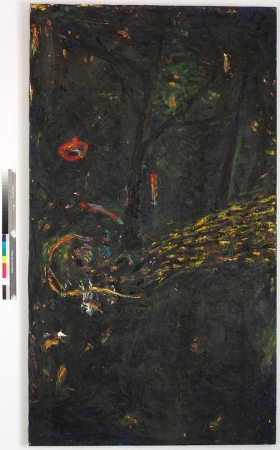 Gunter Damisch, 'Im Dunkeln unter Bäumen', 1987, Galerie Elisabeth & Klaus Thoman