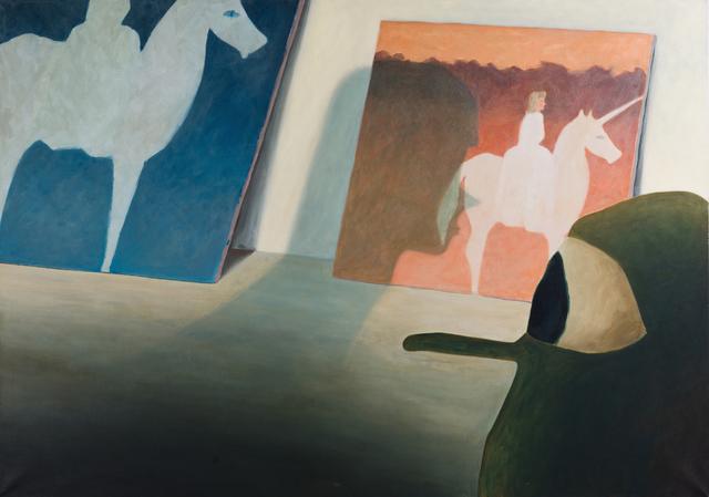 , 'Untitled (Einhornbilder),' 2016, GOLESTANI