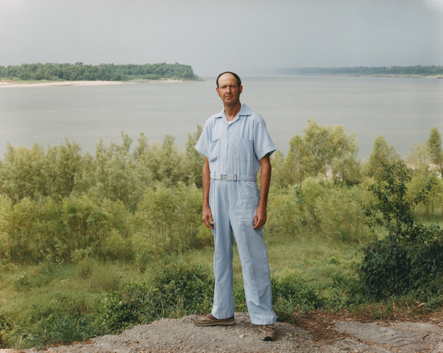 , 'A Man on the Banks of the Mississippi, Baton Rouge, Louisiana, August 1985 ,' 1985, Buchmann Galerie