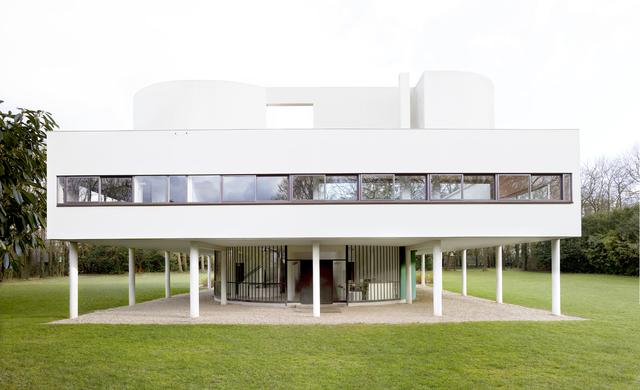 Candida Höfer, 'Villa Savoye (Le Corbusier) Poissy VIII 2018', 2018, VNH Gallery