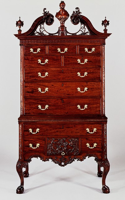 Unknown American, 'High chest of drawers', 1762–1765, The Metropolitan Museum of Art