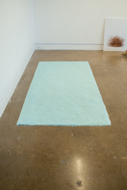 , 'Blue Particulate,' 2016, Fort Worth Contemporary Arts