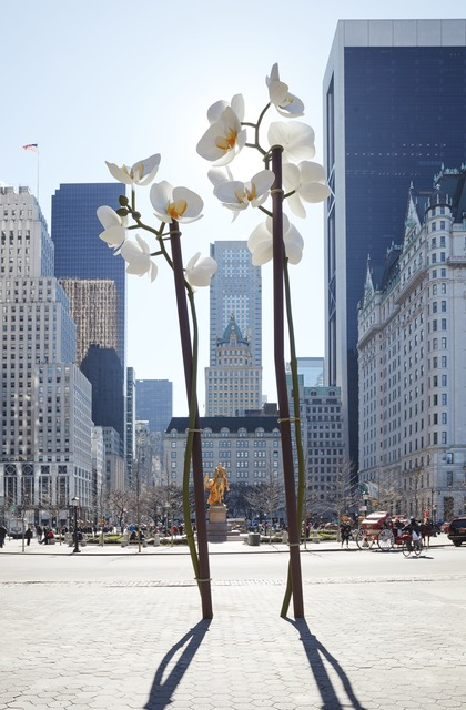 , 'Two Orchids,' 2015, Public Art Fund