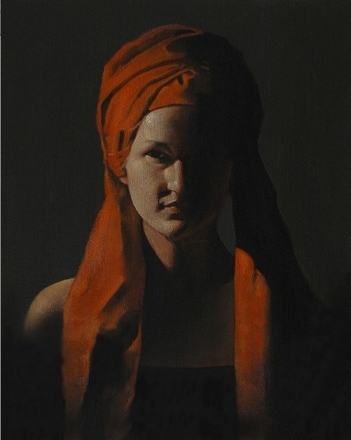 , 'Figure in Red,' 2011, Elisa Contemporary