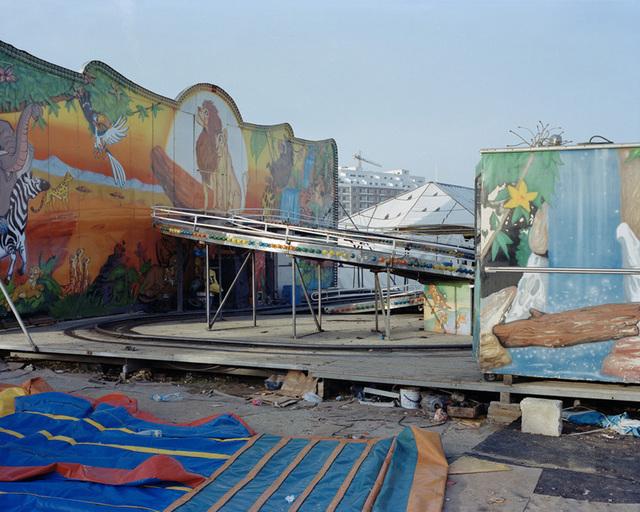 , 'Amusement park next to the railway station ,' 2013, Galerie Clémentine de la Féronnière