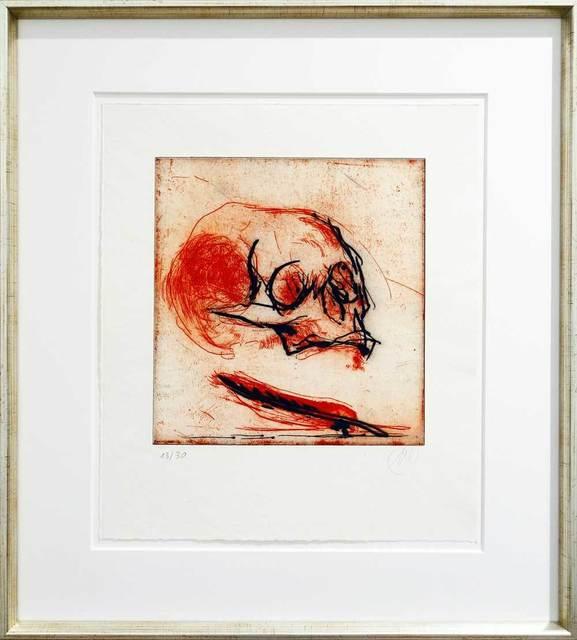 Markus Lüpertz, 'Totentanz', 2002, Print, Etching on vellum, Galerie Kellermann