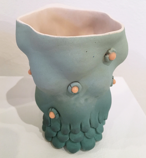 , 'Blob Cup (sky blue with pink eyes),' 2018, BoxHeart