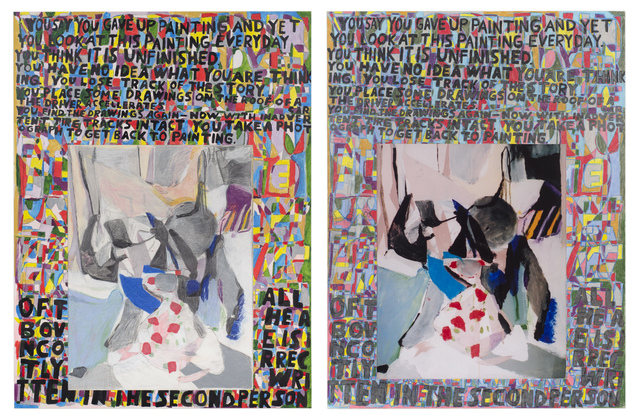 , 'Everything I Learned I Learned Twice (diptych),' 2006, Fleisher/Ollman