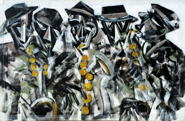 , 'African Jazz,' 2015, Out of Africa Gallery