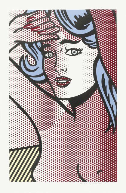 Roy Lichtenstein, 'Nude with Blue Hair', 1994, Joseph K. Levene Fine Art, Ltd.