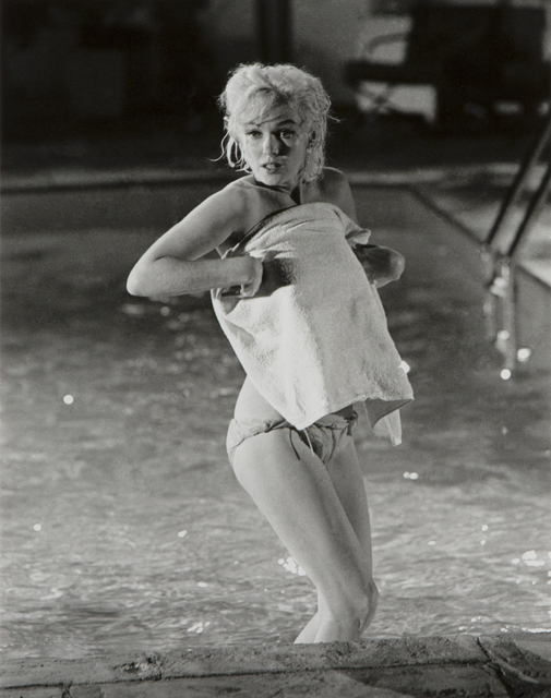 """Lawrence Schiller, 'Marilyn Monroe (surprised), """"Something's Got to Give""""', Heather James Gallery Auction"""