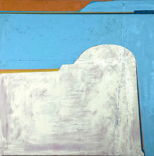 , 'Subtle Cartography: Diebenkorn Delta,' 2017, David Lusk Gallery