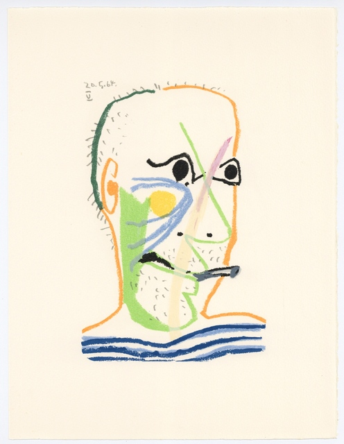 Pablo Picasso, 'Le Gout du Bonheur', 1970, artrepublic