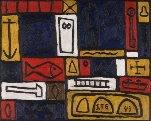 , 'Composicion Constructiva,' 1943, Galerie Gmurzynska