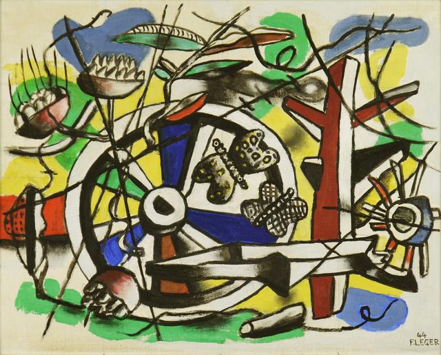 , 'Les Papillons dans la Roue,' 1944, Stern Pissarro