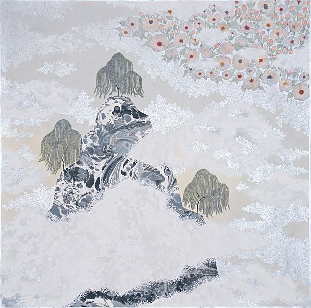 , 'the fog, ''watch over me'',' 2019, Galerie du Monde