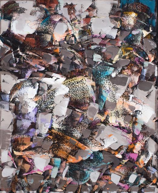 """, '""""C'est en joglant avec les levres de la nuit que l'on garde les pieds en danse de coucher de soleil"""" ,' 2016, Simard Bilodeau Contemporary"""