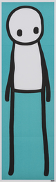 Standing Figure (Teal)