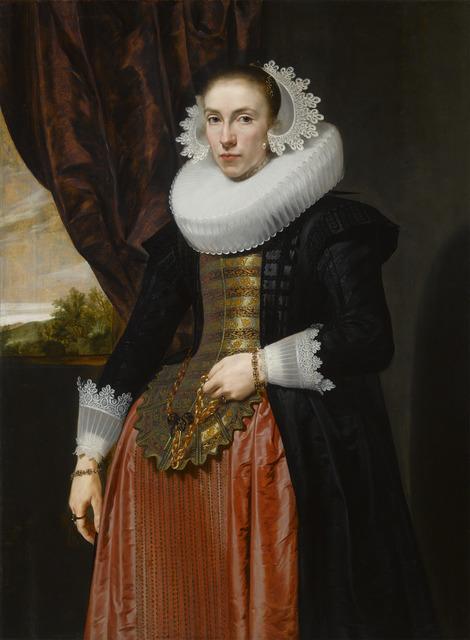 , 'Portrait of a Lady,' 1626, M.S. Rau Antiques
