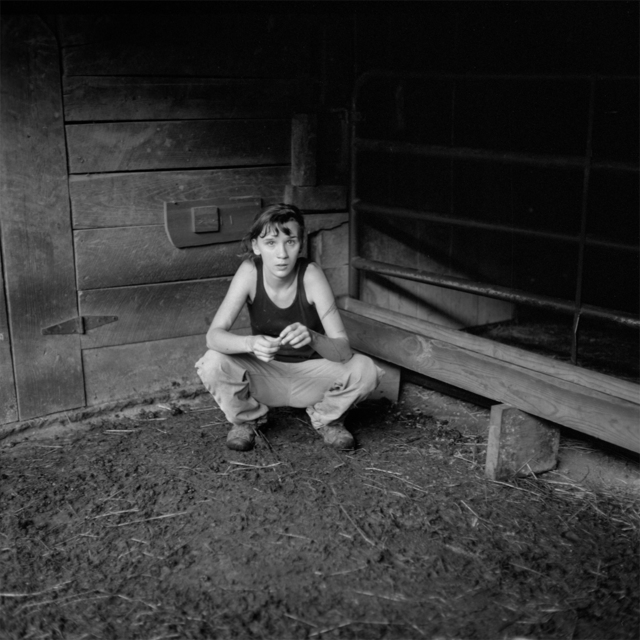 , 'Kate in the Barn, Paw Paw, Madison County, NC,' 2014, Tracey Morgan Gallery