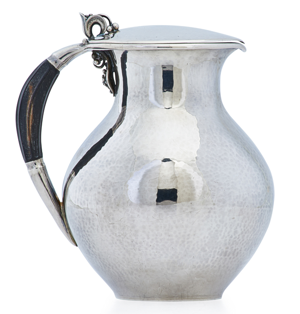 Jorgen Jensen, 'Small hot milk pitcher (#385C)', 1945-51, Rago