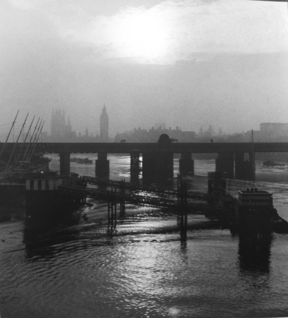 , 'London, Thames,' 1952, Peter Fetterman Gallery